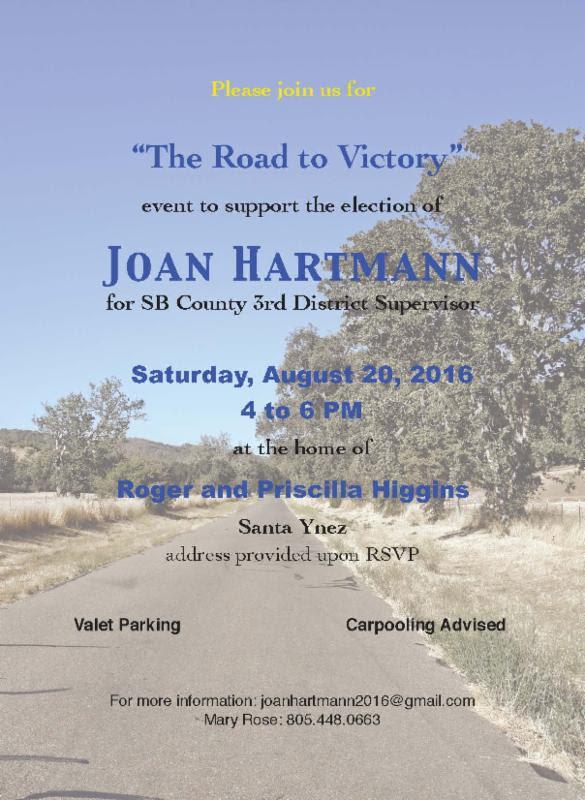 poster for Joan Hartmann