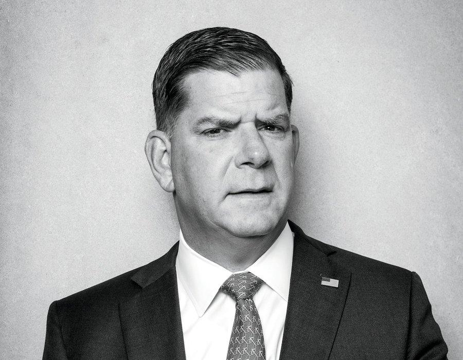 Photo of Marty Walsh, Secretary of Labor